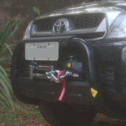 Suporte de Guincho Interno Warn Nova Toyota Hilux