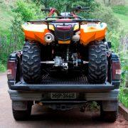 Rampa Duralumínio Mod. ATV-Quadriciclo 1.65m / dobrável