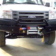 Para-Choque Suporte Guincho Ford Ranger 09 a 12