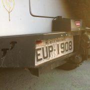 Para-Choque Traseiro XTR C/Suporte Guincho Warn Troller