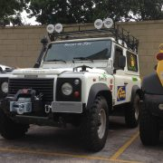 BAGAGEIRO EXPEDITION TT Land Rover Defender 90 Camel