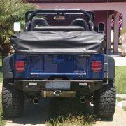 Para-Choque XTR traseiro Jeep Willys – Ford