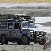 Bagageiro EXPEDITION Land Rover Defender 110 Camel96